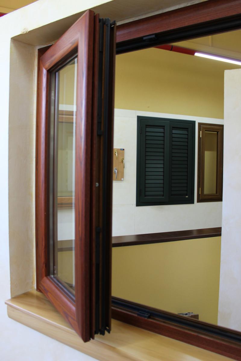 infissi legno alluminio finestrall