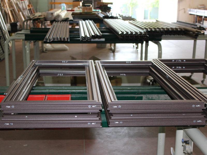 Produzione industria serramenti
